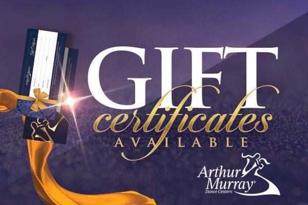 Arthur Murray Chicago Gift Certificates