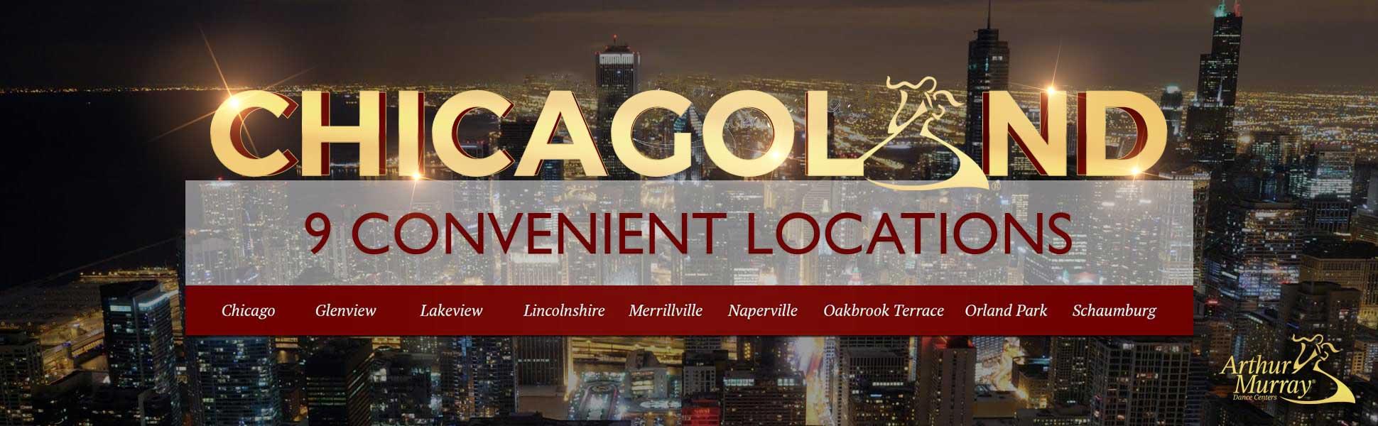 9 Convenient Locations